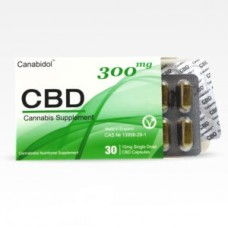 Canabidol™ CBD Oral Capsules 300mg
