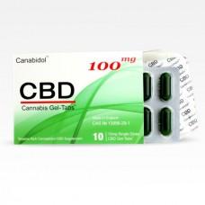 Canabidol™ CBD Gel-Tabs™ 100mg
