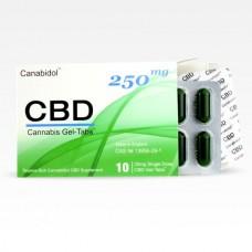 Canabidol™ CBD Gel-Tabs™ 250mg