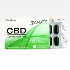 Canabidol™ CBD Gel-Tabs™ 500mg